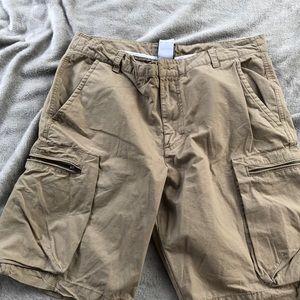 Nike cargo golf shorts